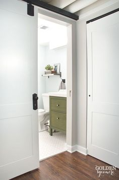 Adding a bathroom to the basement requires connecting the fixtures to the main drain, which may mean cutting through a concrete floor.