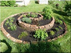 Használt téglából is varázsolhatunk kerti csodát | Sokszínű vidék