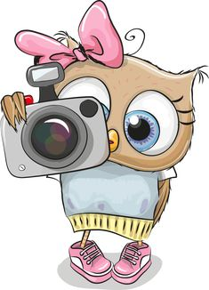 cute cartoon owl in a hat and scarf owls pinterest lechuzas