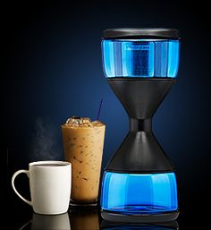The Hourglass Cold Brew Coffee Maker Uses no Electricity or Heat (2)
