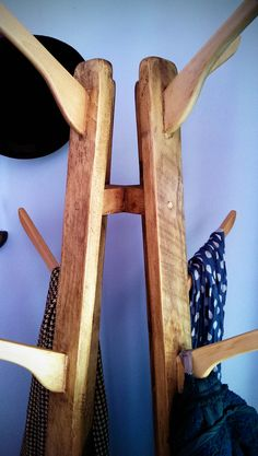 Hand made hat and coat stand in reclaimed wood by Marc Wood Joinery £90 made to order. https://www.etsy.com/uk/listing/165864314/handcrafted-coat-and-hat-stand-in-solid  #farmhouse #Etsy #rustic #reclaimed  #wood #interiors #UK #handmade #design #country #Gift #kitchen #bathroom #hallway #traditional #bedroom  #livingroom www.facebook.com/woodbyname?ref=hl