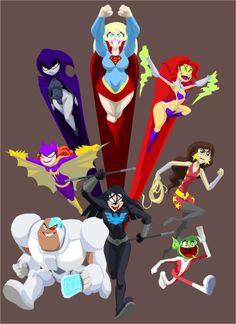 Teen Titans - Terry Jones