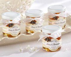 Pote de mel personalizado Foto: Reprodução / My Wedding Favors