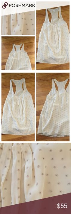 Club Monaco Silk racer back top Club Monaco racer back flowy top. Size S. Excellent condition. Offers should be made through offer button. Club Monaco Tops