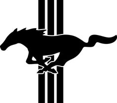 ford mustang logo emblem vinyl by freshcutcustomvinyl on etsy - Ford Mustang Logo Images