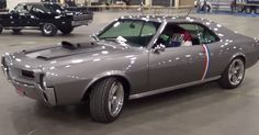 Beautiful and rare American muscle car - 1969 AMC Javelin SST 390 restomod. Watch the video