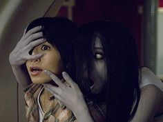 The Grudge. Kayako in action. Okay I spaced out a little on this one.