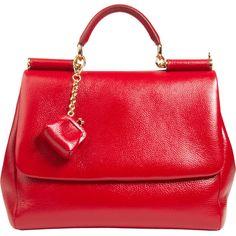 Dolce & Gabbana Medium Miss Sicily Bag ($2,095) ❤ liked on Polyvore