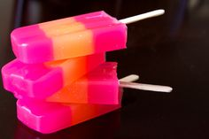 Popsicle Soap Apricot Freesia Popsicle Soap by Soapmuchlove