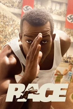 Race (2016) Movie Poster - Stephan James, Jason Sudeikis, Jeremy Irons  #Race, #2016, #StephanJames, #JasonSudeikis, #JeremyIrons, #StephenHopkins, #Drama, #Poster, #Art, #Film, #Movie, #Poster