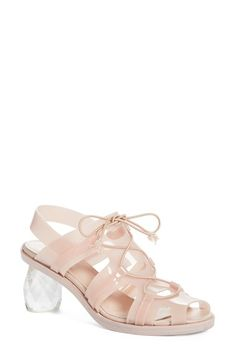 Simone Rocha Faceted Heel Sandal (Women) available at #Nordstrom
