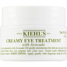 Kiehl's Since 1851 Women's Creamy Eye Treatment ($29) ❤ liked on Polyvore featuring beauty products, skincare, eye care, no color, eye skin care, kiehls skin care and kiehl's skincare
