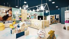 Petshop project: Models for you to be inspired Boutique Interior, Spa Interior, Pet Boutique, Shop Interior Design, Dog Store, Kids Store, Pet Store Display, Behance Portfolio, Dog Toy Storage