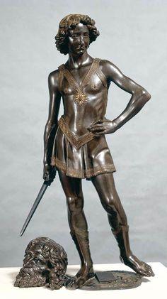 Verrocchio, David, 1467   2012 trip to Florence