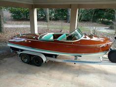 Beautiful 1960 21' Riva Ariston for sale at CarolinaClassicBoatsandCars.com