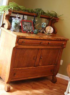 Oak sideboard, Sideboard buffet and Buffet on Pinterest