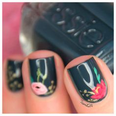 [Guestpost]: POLISH CHEST.   with TUTORIAL.   See more at http://www.nailsss.com/colorful-nail-designs/2/