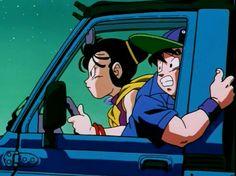 Goku and Chichi♡ XD