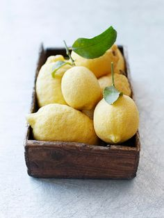 Lemons remind me of summer, I use them in my hair, in lemonade, and in whatever else I decide! ;P