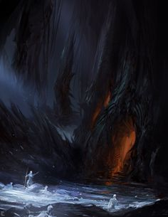 Frozen Abyss, Yuan Cui on ArtStation at http://www.artstation.com/artwork/frozen-abyss