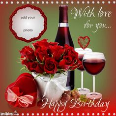 25 Trendy Birthday Wishes For Her Wine Happy Birthday Wishes Spanish, Happy Birthday Wishes Photos, Happy Birthday Wishes Cake, Happy Birthday For Him, Happy Birthday Frame, Birthday Bbq, Happy Birthday Celebration, Happy Birthday Flower, Birthday Blessings