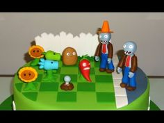 How to make Plants vs Zombies cupcakes (part 3/3) / Cupcakes de Plantas vs Zombies parte 3 - YouTube