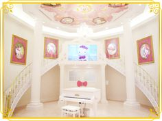 Welcome to Lady Kitty House at Sanrio Puroland!
