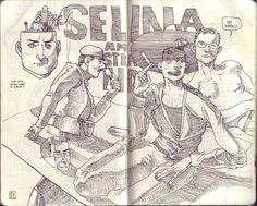 SKETCHBOOK 03-07.2012 - Jared Illustrations