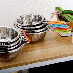 22CM Fine Mesh Stainless Steel Vegetables Strainer  #Sale #Hot #Buy #New #Trend #Discount