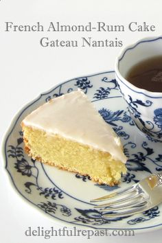 Gateau Nantais (pronounced GAT-toe nahn-tay, sort of) is a traditional cake of Nantes, a city on the delta of the Loire in western Franc. Almond Recipes, Baking Recipes, Cake Recipes, Dessert Recipes, Baking Ideas, French Almond Cake Recipe, Afternoon Tea Cakes, Sweet Recipes, French Recipes