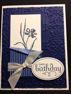 Love & Sympathy Card Stampin' Up! Rubber Stamping Cards