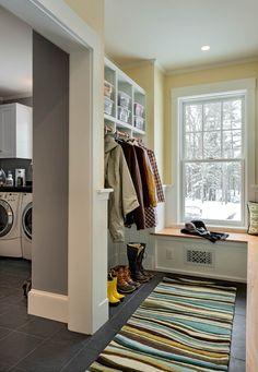 laundry off mudroom?