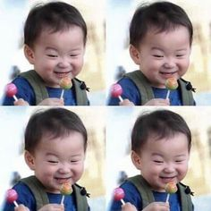 Song Triplets Song Il Gook, Korean Tv Shows, Man Se, Superman Baby, Song Triplets, Happy Pills, Dream Baby, Cute Faces, My Children