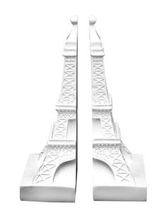 Eiffel Tower Bookends (Set of 2) by Three Hands at Gilt