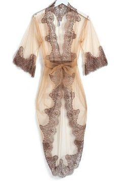 Gorgeous lace lingerie kimono! Slip into something sexy at http://hookedupshapewear.com!