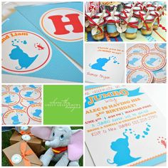 Dumbo Party Package by TheGreenGrassGrows on Etsy, $110.48
