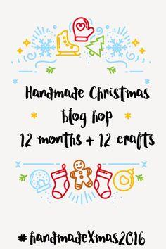handmade Christmas blog hop 2crochethooks