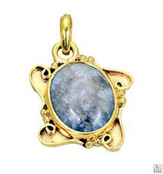 #jasper Gold Plated #Fashion #pendant #Artificial #RiyoGems #Jewelry #Jewellery #gems #gemstone