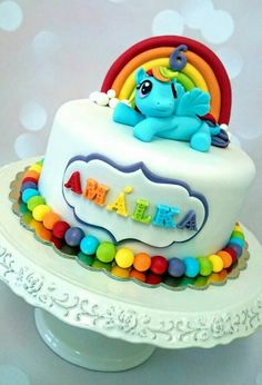 My Little Pony cake by Mifa
