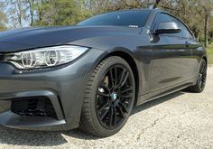 BMW Painted Reflectors For F32 with M sport bumpers (Front + Rear) - JBSPEED