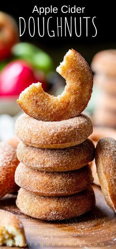 Apple Cider Doughnuts Baked Apple Cider Doughnuts – these light and spongy cinnamon sugar coated Apple Cider Doughnuts are so delicious, bet you can't eat just one! Baked Apple Dessert, Apple Dessert Recipes, Apple Recipes, Fall Recipes, Baking Recipes, Sweet Recipes, Easy Brunch Recipes, Fall Desserts, Muffin Recipes