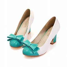 Carol Shoes Women's Sweet Assorted Colors High Heel Bows Pumps Shoes (6.5, Blue+white) Carol Shoes http://www.amazon.co.uk/dp/B00R24FQOM/ref=cm_sw_r_pi_dp_zNyOvb1BPRMJ8