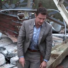 Richard Armitage. Into the Storm. I can tell you my VP in high school did NOT look like that!