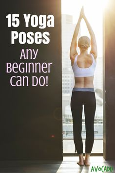 15 Yoga Poses Any Beginner Can Do | Avocadu.com
