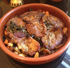 Lamb Tagine with Vegetables, Honey & Dates