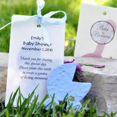 Plant a Baby Carriage & watch the flowers grow!- Pink or Blue Plant a Memory of your Baby-to-be