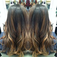 hair painting highlights - Google Search