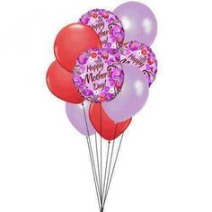 Order mother's day Balloons online USA with sendflowersandmore.send fresh Balloons for mothers day at very low rate from our collections.Admire your mom's love with mothers day Balloons delivery