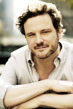 Colin Firth. My favorite picture of him.