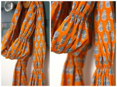 Runched voile scarf, selfish sewing...